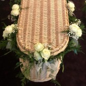 Rose Coffin Garland