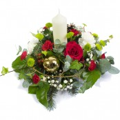 Peace and Joy Candle Centrepiece